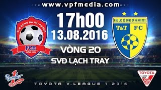 Hai Phong vs TT Ha Noi full match