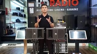 Loa karaoke JBL Ki08: Đánh giá chi tiết, trải nghiệm thực tế