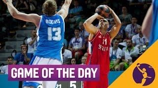 Greece v Serbia - Game of the Day (Day 2) - 3x3 Basketball - 2015 European Games - Baku
