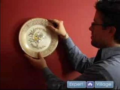 How to Hang a Picture : Hanging Plates on a Wall