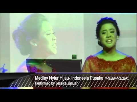 Jessica Januar Medley Nyiur Hijau Indonesia Pusaka