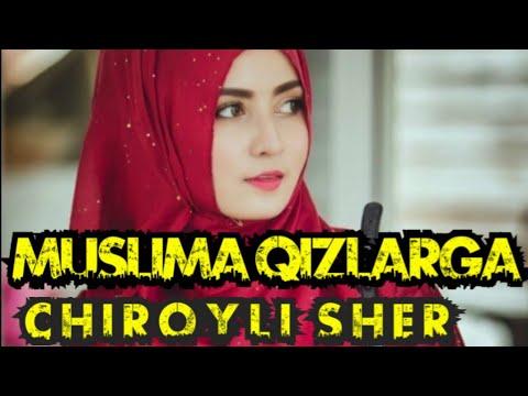 Muslima Qizlarga Chiroyli Sher