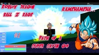 Path of a Super Sayain God l DRAGON BALL Z RAGE l ROBLOX