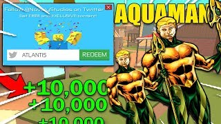 THE *LATEST* BEST BANDIT SIMULATOR CODES 2018 {AQUAMAN EVENT CODES} (Roblox Aquaman Event) | ROBLOX