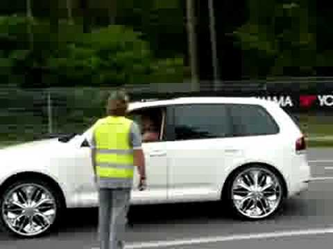 vw touareg tuning dub styl youtube. Black Bedroom Furniture Sets. Home Design Ideas