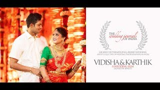 CLASSIC MUST SEE SOUTH INDIAN PRE WEDDING HIGH LIGHT FILM | TWJOI | VIDHISHA RAJU & KARTHIK