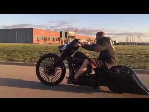 2015 F Bomb Baggers 30 Quot Street Glide Custom Bagger For Sale On Ebay Youtube