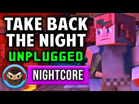 "NIGHTCORE ► ""TAKE BACK THE NIGHT"" UNPLUGGED (Acoustic Cover) by TryHardNinja [MINECRAFT SONG]"