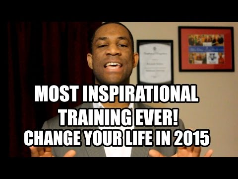 Most Inspirational Training Ever: How to change your life in 2015 with 5LINX