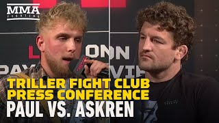 Jake Paul vs. Ben Askren Triller Press Conference - MMA Fighting