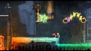 видео Прохождение Rayman Legends - Спасай Луговину! #1