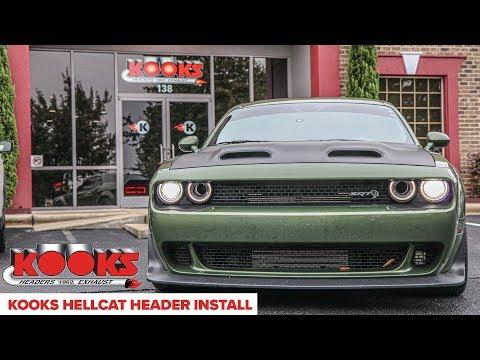 Dodge Redeye Hellcat Install And Dyno Runs