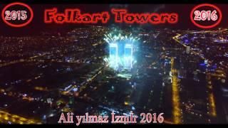 folkart towers izmir yılbaşı havai fişek gösterisi