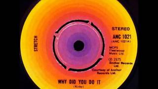 "Stretch - Why Did You Do It (Dj ""S"" Bootleg Bonus Beat Extended Sax Re-Mix)"