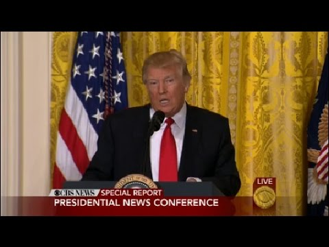 Trump Defends Administration, Slams Media In Unscheduled News Conference