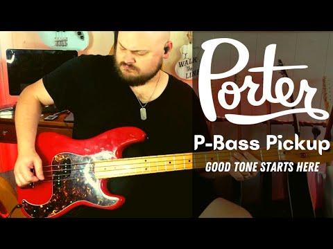 PORTER PICKUPS P-bass Pickup // Good Tone Starts Here