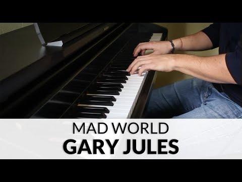 Gary Jules  Mad World Donnie Darko Soundtrack  Piano