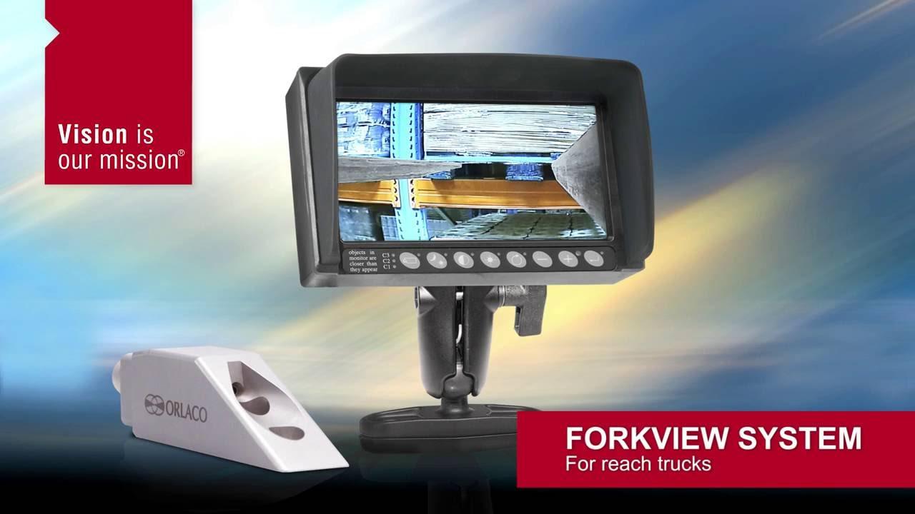 Orlaco Forkview System For Reach Trucks Youtube