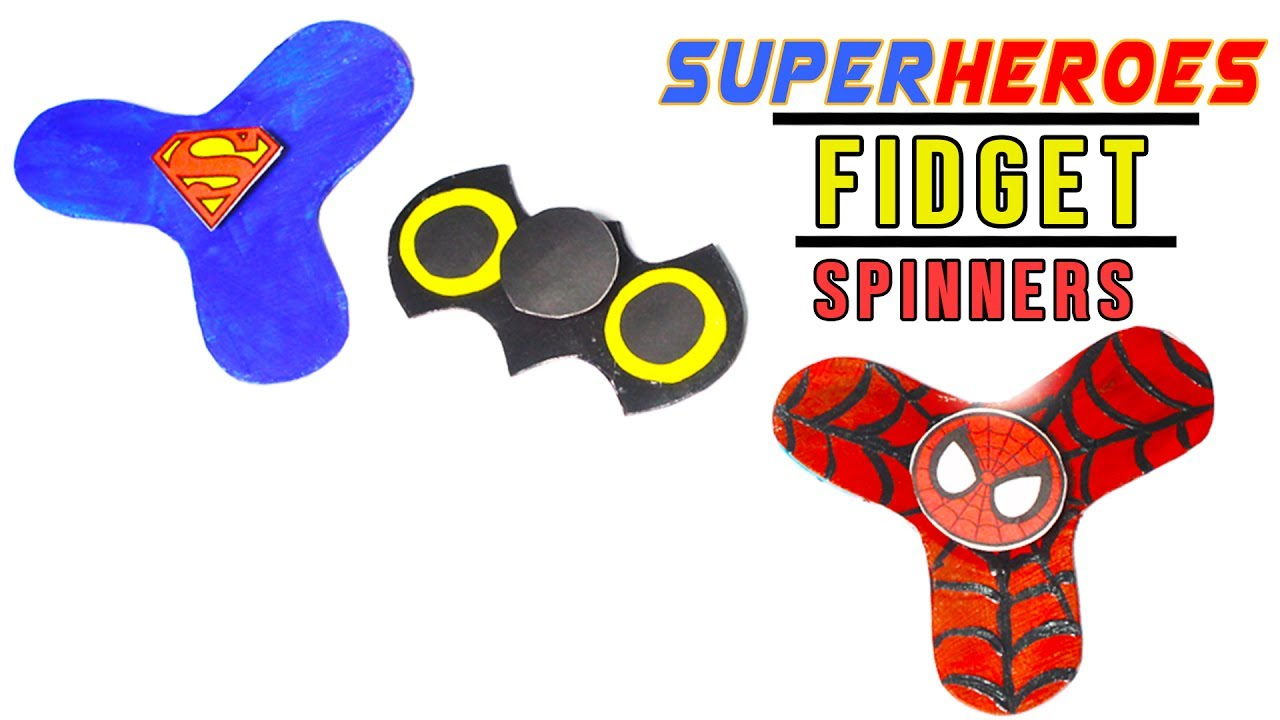 Minute Crafts Fidget Spinners