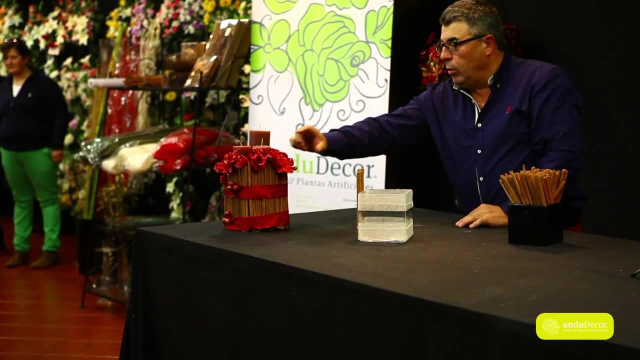 Taller sobre decoraci n navide a con flores artificiale for Taller decoracion de interiores