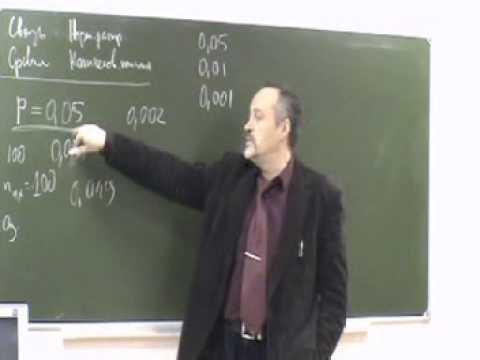 Воронов И.А. Критерий T-Стьюдента (для гуманитариев)