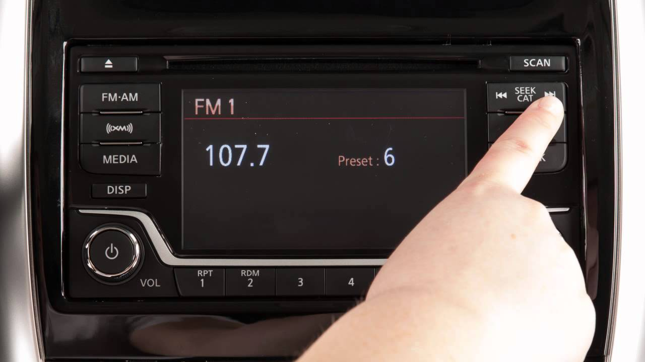 2013 Stereo Versa Upgrade Sedan System Nissan