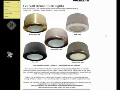 Xenon puck lights brodwax lighting youtube xenon puck lights brodwax lighting mozeypictures Image collections