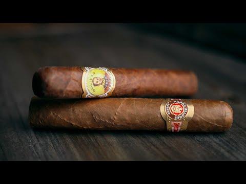 Ramon Allones Specially Selected Vs Bolivar Royal Coronas