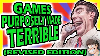 🎮 5 Games Purposely Made TERRIBLE by Dickish Developers (Revised Edition) | Fact Hunt
