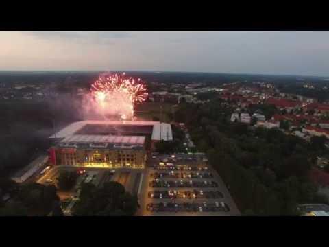 Feuerwerk - Stadion An der Alten Försterei - Union Berlin