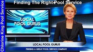Finding The Right Pool Service - Chlorine King Pool Service - Guru Reels TV