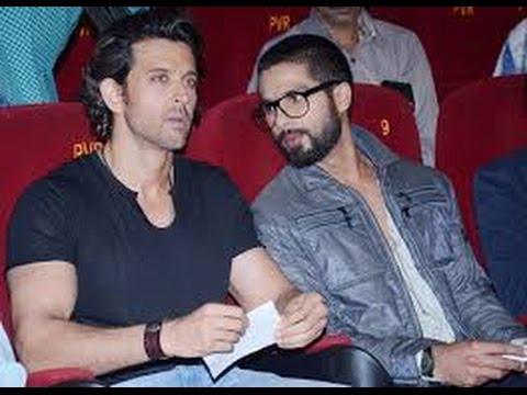 Shahid Kapoor was first choice over 'Hrithik Roshan' for Bang Bang - Bollywood News