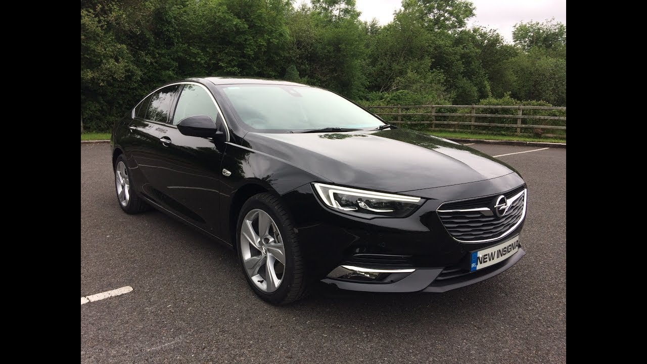 Vauxhall Insignia 2018 Review Test Drive 2017 Opel Insignia Grand Sport Elite