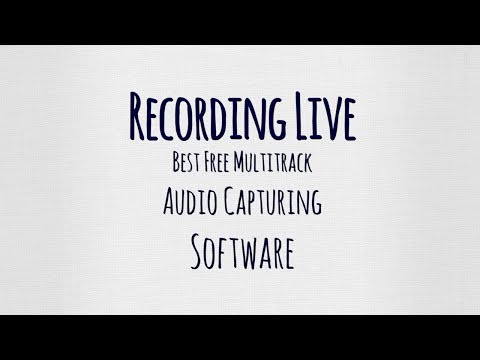 Best Free Multitrack Audio Capture For Live Church Choir Recordings?