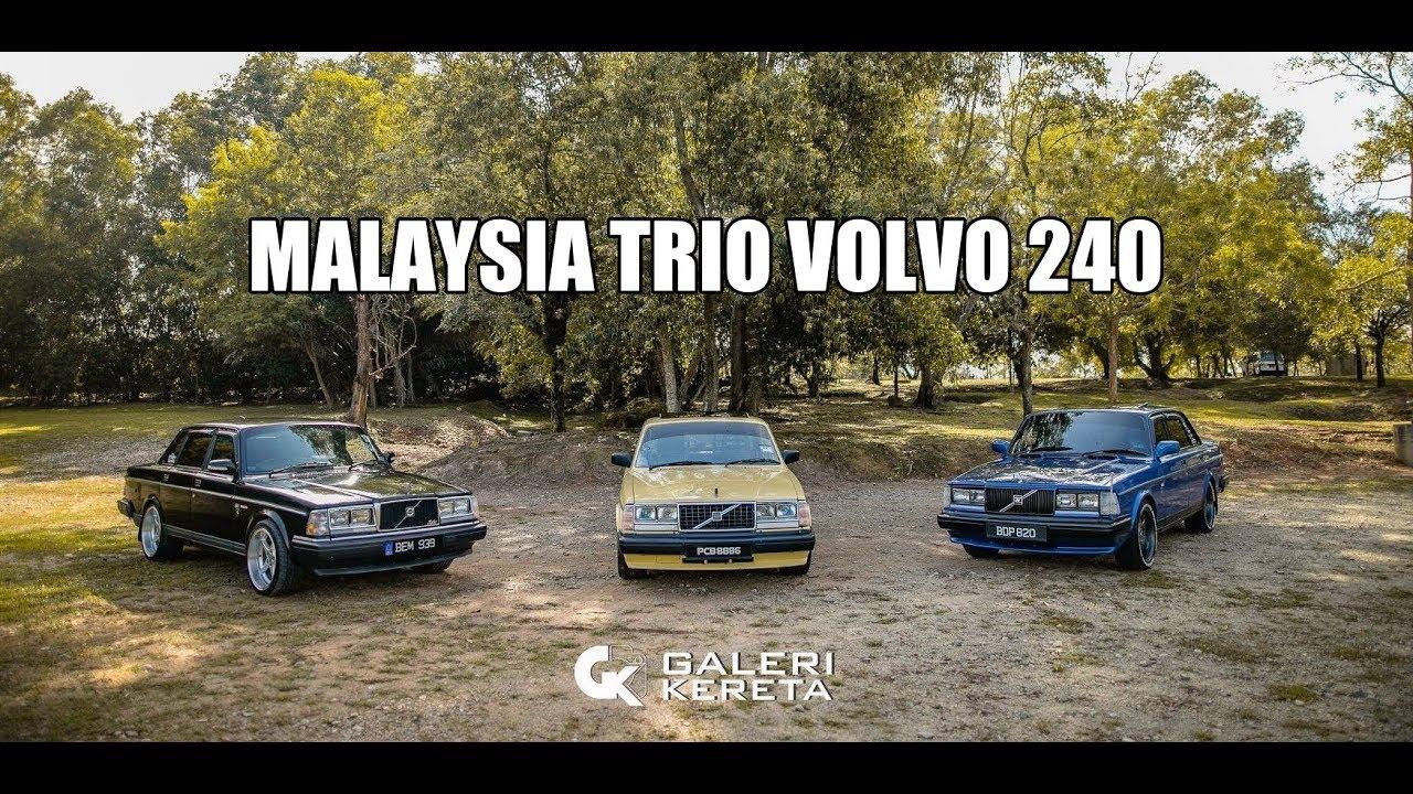 Malaysia Trio Volvo 240