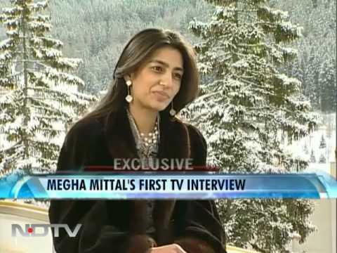 Megha Mittal At Davos