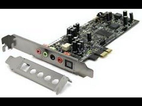 ASUS XONAR DGX 5.1 SOUND CARD DRIVERS PC