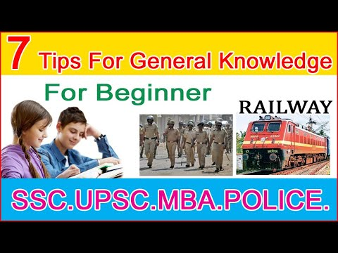 7 Tips to improve your General Knowledge   Fastest way to learn   Intelligence   Study with Janu