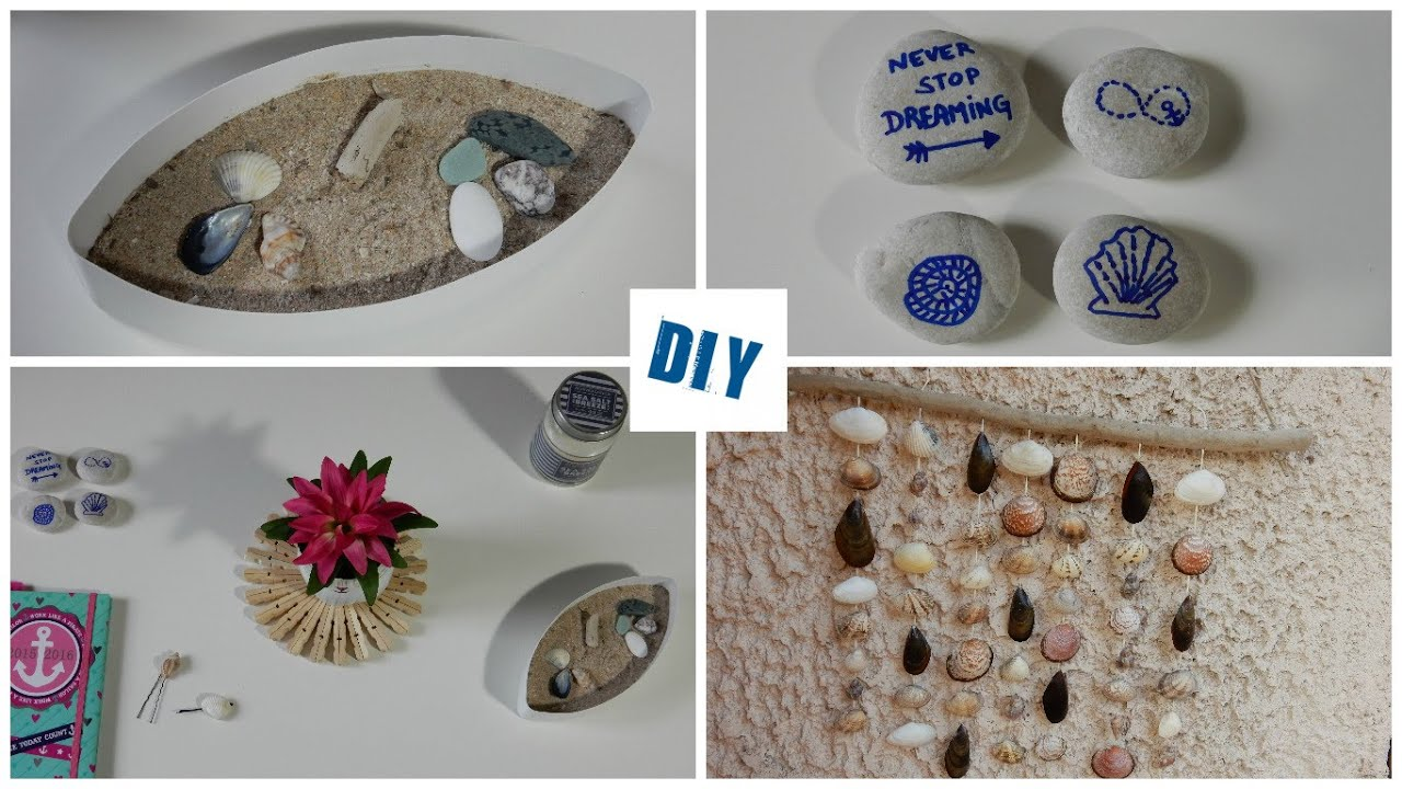 nautical themed decor room 3 beach decor diy dco faire soi mme rcup youtube - Diy Beach Decor