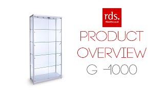 G-1000 Glass Display Cabinet