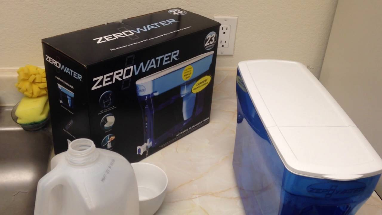 Zero Water Filter & TDS Meter (Do Not Buy This In AZ)
