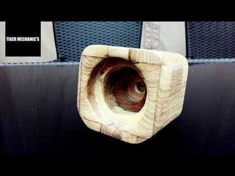 DIY | Wooden Phone-Speaker