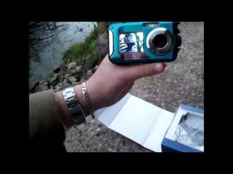 24MP WATERPROOF DOUBLE SCREEN DIGITAL VIDEO  CAMERA