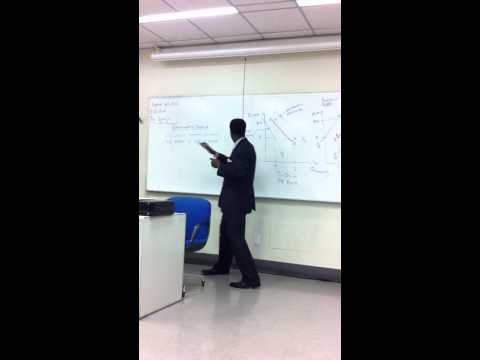 Points on Demand & Supply Curve Vs  Determinants of demand & Supply