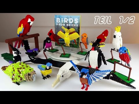 Birds from Bricks - Vögel aus LEGO 1/2 (Modelle + Buch) - Review deutsch -