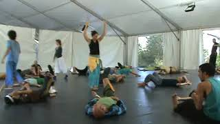 Ibiza Contact Improvisation Festival August September 2010 03 09 2010 10 30 Class Asaf Part 1