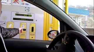 Оплата платных дорог в Хорватии