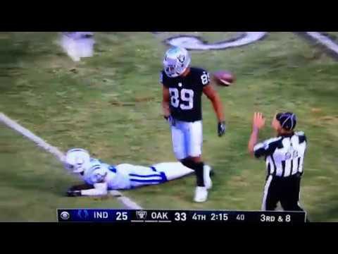 Amari Cooper Amazing Catch Vs Colts