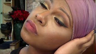 first impressions bh cosmetics 3 in 1 loose mineral foundation powder eyeshadow tutorial