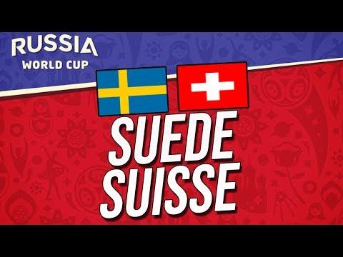 COUPE DU MONDE 2018 | SUEDE - SUISSE (1/8 de finale)